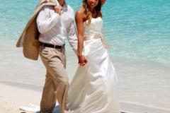 Beaches Turks wedding