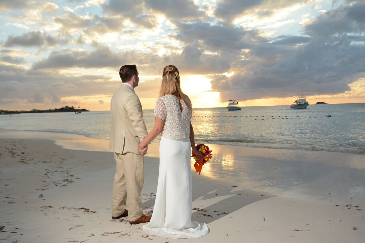 Sandals Grande Antigua wedding