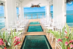 Sandals South Coast wedding chapel on water